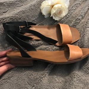 Madewell Boardwalk ankle-strap sandals